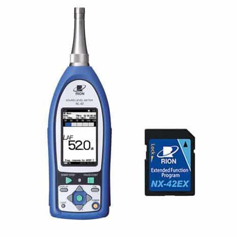 Máy đo độ RION NL-52EX (Máy đo độ ồn RION NL-52 + NX-42EX cài đặt sẵn)
