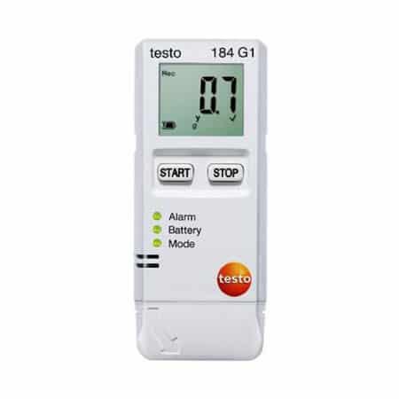 Bộ ghi dữ liệu nhiệt độ, độ ẩm Testo 184 G1 (0572 1846, -20 ~ +70 °C, 0 ~ 100 %rH, IP30)