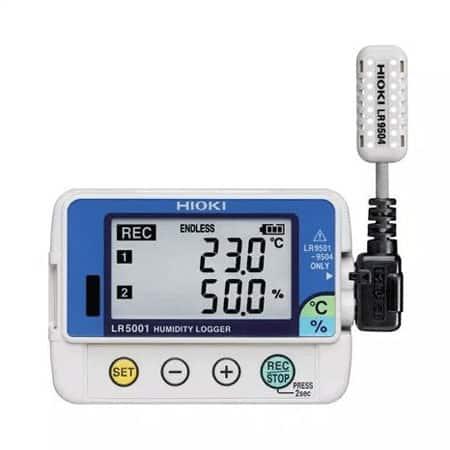Bộ ghi dữ liệu nhiệt độ độ ẩm Hioki HiLOGGER LR5001