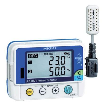 Bộ ghi dữ liệu nhiệt độ, độ ẩm Hioki HiLOGGER LR5001 (1)