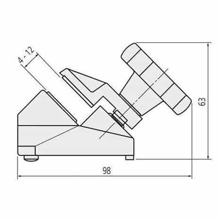 Chân Đế Kẹp Panme MITUTOYO 156-105-10 (4)