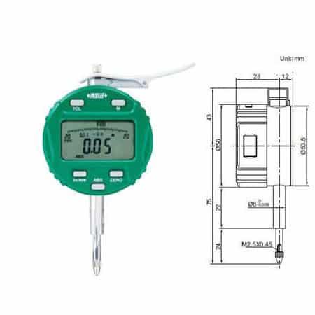 Đồng hồ so INSIZE 2109-10 (01)