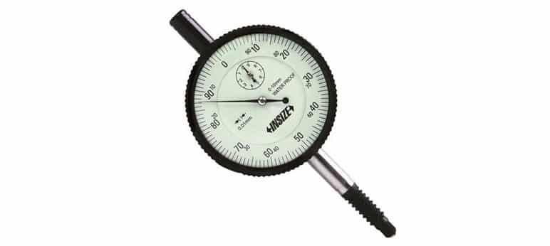 Đồng hồ so chịu nước INSIZE, 2324-10, 0 - 10mm / 0.01mm