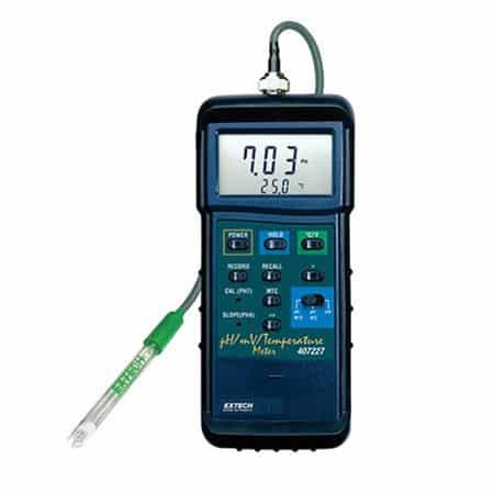 Máy đo PH/mV/Nhiệt độ cầm tay Extech 407228