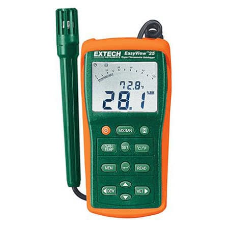 Máy đo nhiệt độ, độ ẩm Extech EA25 (có bộ ghi)
