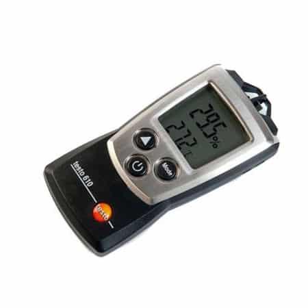 Máy đo nhiệt độ độ ẩm không khí bỏ túi Testo 610 (01)