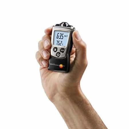 Máy đo nhiệt độ độ ẩm không khí bỏ túi Testo 610 (02)