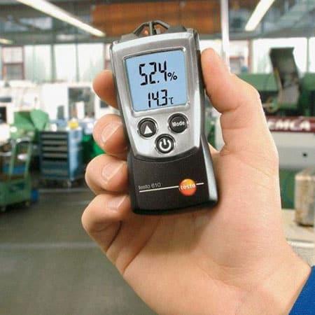 Máy đo nhiệt độ độ ẩm không khí bỏ túi Testo 610 (03)