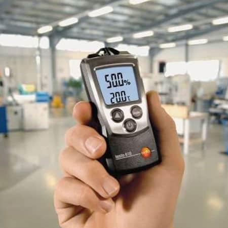 Máy đo nhiệt độ độ ẩm không khí bỏ túi Testo 610 (04)
