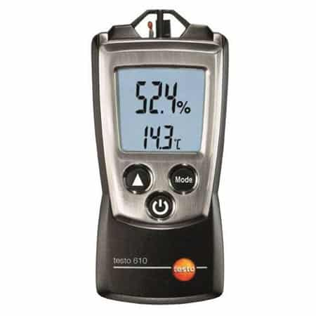 Máy đo nhiệt độ, độ ẩm không khí bỏ túi Testo 610 (-10 ~ +50 °C)