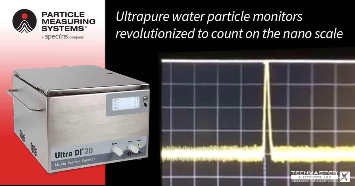 thiết bị đếm hạt tiểu phân PMS Ultra DI®20
