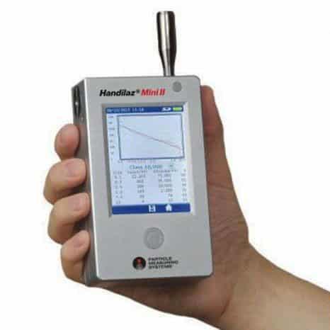 Thiết bị đếm hạt tiểu phân cầm tay Handilaz Mini II