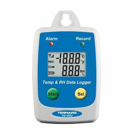Thiết bị đo nhiệt độ, độ ẩm Tenmars TM-305U (-40~85C) Đã bật chế độ hỗ trợ trình đọc màn hình