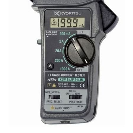 Ampe kìm đo dòng rò Kyoritsu 2413R (1)