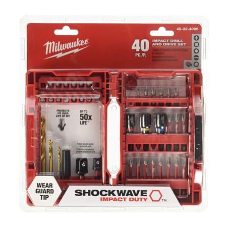 Bộ mũi khoan và vặn vít đa năng Milwaukee 48-32-4006 - 40pcs