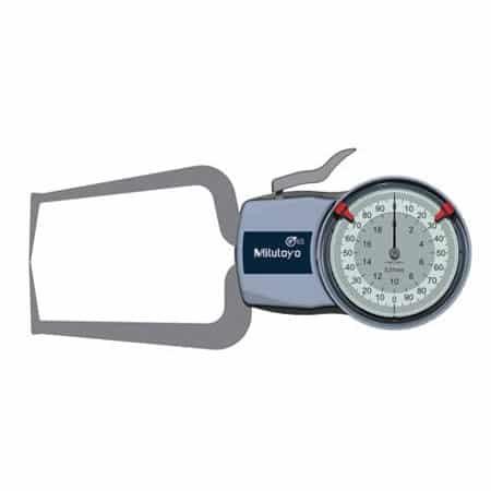Compa đo ngoài đồng hồ Mitutoyo 209-405 (0-20mm/ 0.01mm)
