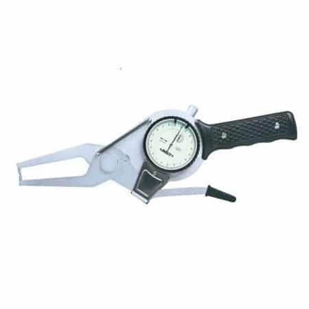 Compa đồng hồ đo ngoài Insize 2332-100 (80-100mm, 0.01mm, L: 55mm)