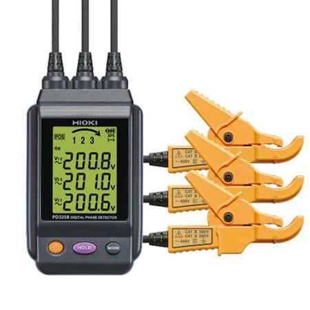 Đồng hồ chỉ thị pha Hioki PD3259 (1)