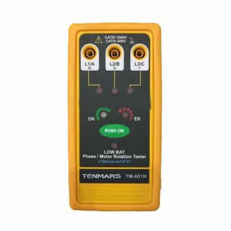 Đồng hồ chỉ thị pha Tenmars TM-601N