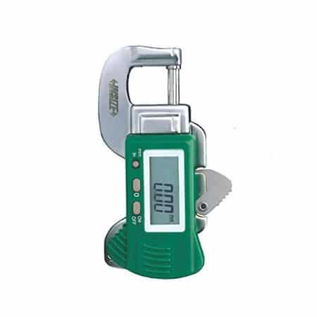 Đồng hồ đo độ dày vật liệu điện tử Insize 2166-12, 0-12mm /0.01mm