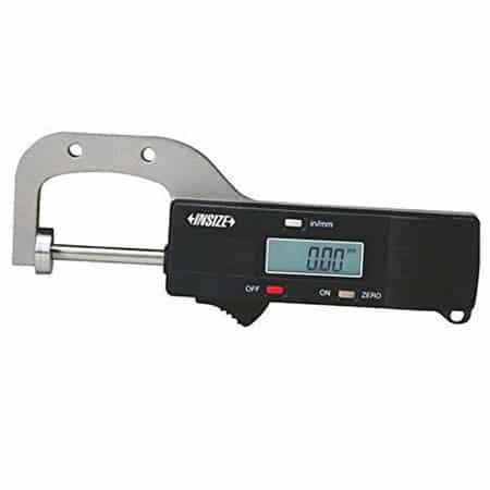 Đồng hồ đo độ dày vật liệu điện tử Insize 2167-25, 0-25mm/0.01mm