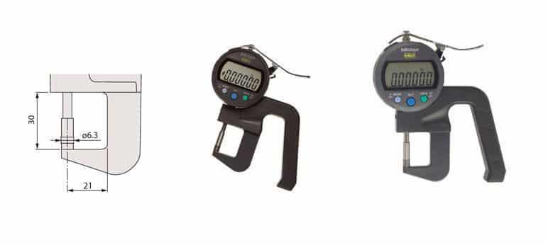 Đồng Hồ Đo Độ Dày Vật Liệu Điện Tử MITUTOYO 547-400S (0-12mm/ 0.00005 inch)