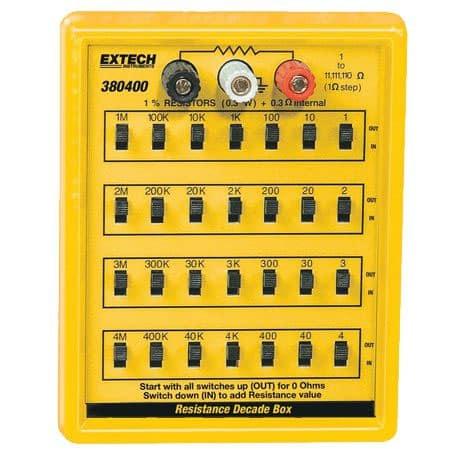 Hộp tụ điện chuẩn Extech 380400
