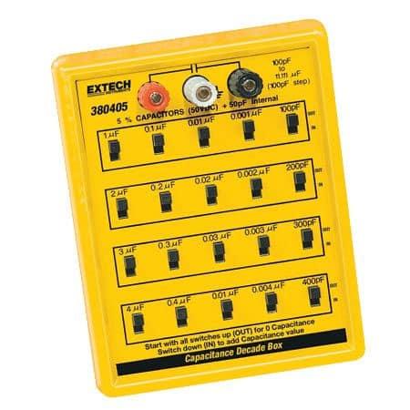 Hộp tụ điện chuẩn Extech 380405