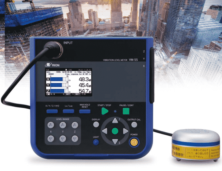 RION VM-55 Vibration Level Meter
