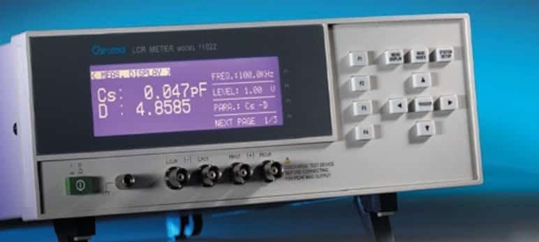 LCR Meter Chroma 11022 (6)