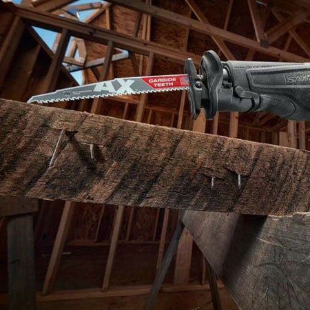 Lưỡi cưa kiếm gỗ MilWAUKEE AX CARBIDE T5-300.48mm (1 chiếc) (1)