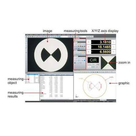 Máy đo CNC Insize ISD V300 (04)