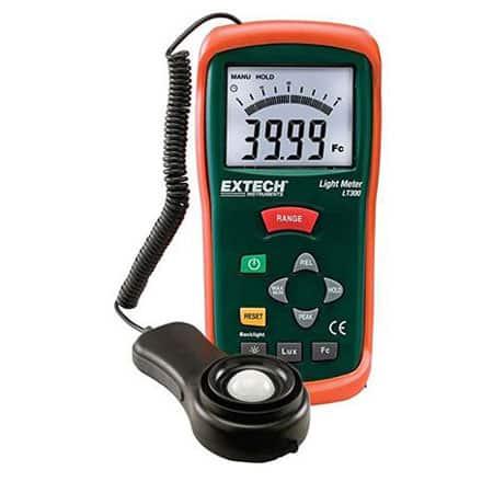 Máy đo cường độ ánh sáng Extech LT300 (0-200.000 Lux)