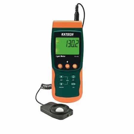 Máy đo cường độ ánh sáng Extech SDL400 (100k Lux, có bộ ghi dữ liệu)