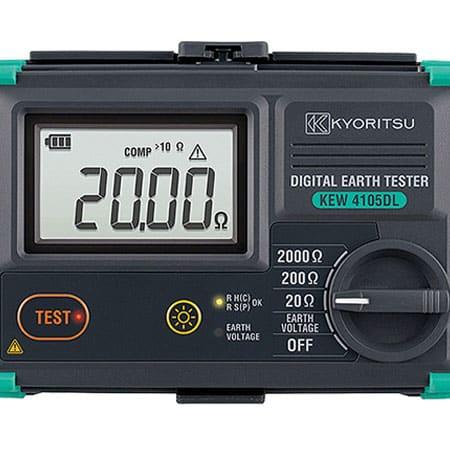 Máy đo điện trở đất Kyoritsu 4105DL-H (1)