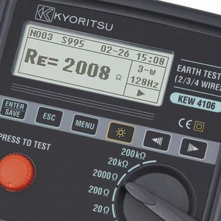 Máy đo điện trở đất Kyoritsu 4106 (1)