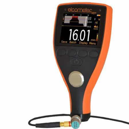 Máy Đo Độ Dày Vật Liệu Bằng Siêu Âm ELCOMETER MTG6-TXC (500mm, ghi dữ liệu,Bluetooth, IP54, đo qua lớp sơn)