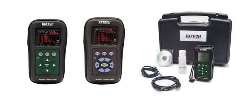 Máy Đo Độ Dày Bằng Siêu Âm EXTECH TKG250 (1.0-508mm, đo qua lớp sơn, hiển thị xung và mặt cắt)