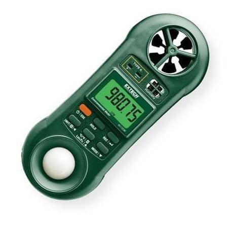 Máy đo nhiệt đô, độ ẩm, tốc độ gió, ánh sáng Extech 45170CM (1)