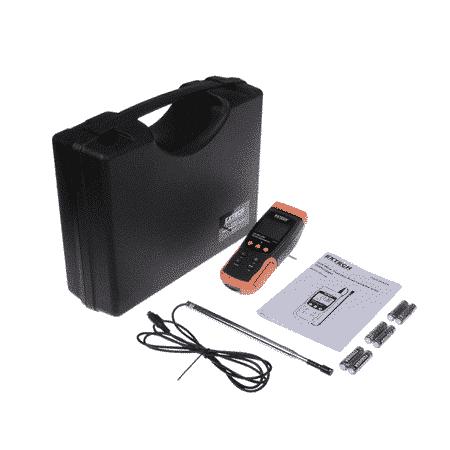 Máy đo tốc độ gió Extech SDL350 đầy đủ