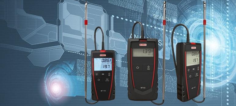 KIMO VT50 Thermo-anemometer Hotwire