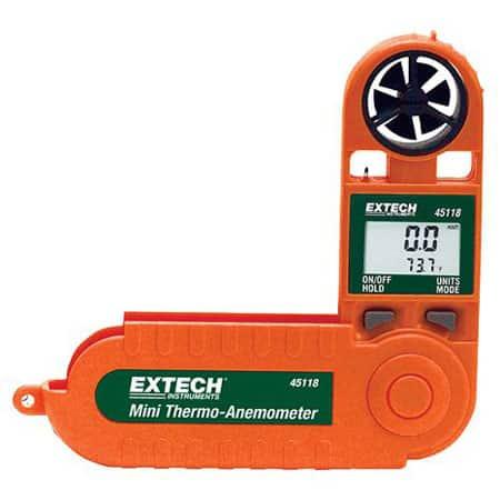 Máy đo tốc độ gió mini Extech 45118 (0.5 ~ 28m/s)