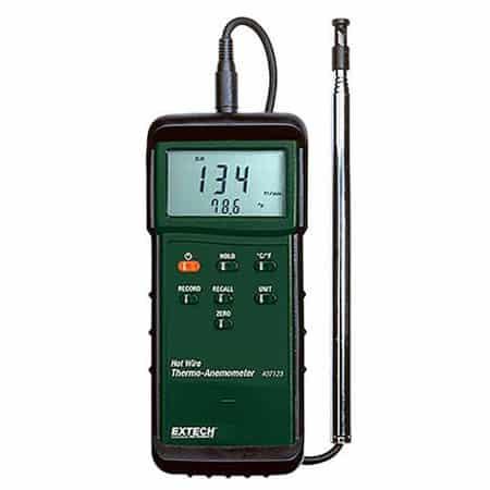 Máy đo tốc độ gió, nhiệt độ gió Extech 407123 (0-20m/s)