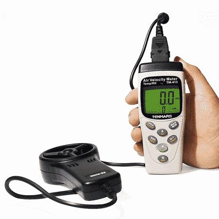 Máy đo tốc độ gió Tenmars TM-413 (1)
