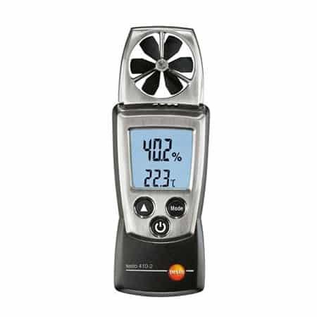 Máy đo tốc độ gió, nhiệt độ, độ ẩm Testo 410-2 (0560 4102, 0.4 ~ 20 m/s)