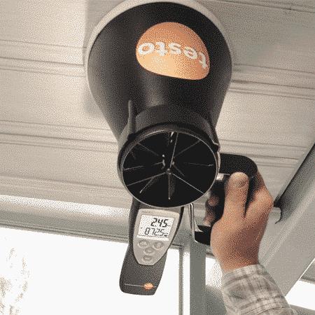 Máy đo tốc độ gió Testo 417 (2)