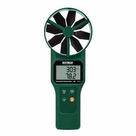 Máy đo tốc độ, lưu lượng gió, nhiệt độ, độ ẩm, điểm sương, khí CO2 Extech AN320