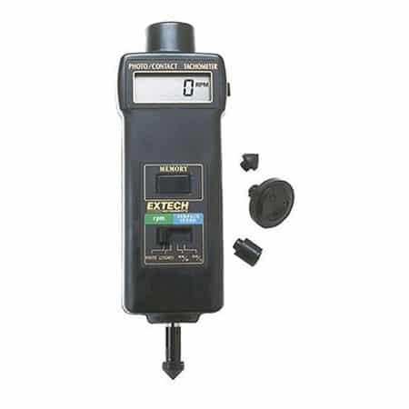 Máy đo tốc độ vòng quay Extech 461895 (5 to 99,999, tiếp xúc, không tiếp xúc )