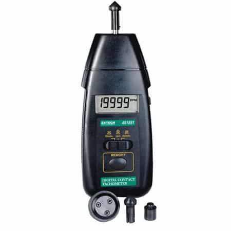 Máy đo tốc độ vòng quay tiếp xúc Extech 461891 (0.5 to 19,999 rpm)
