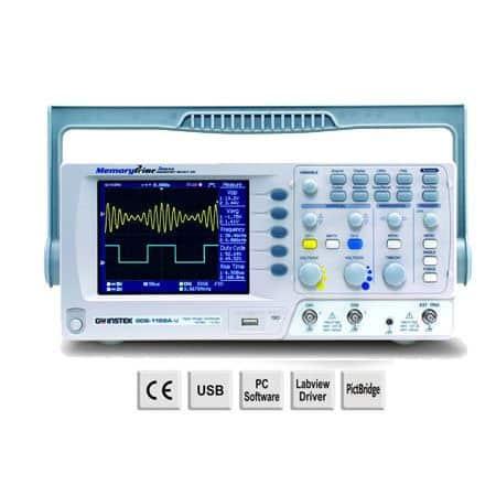 Máy hiện sóng kỹ thuật số GW Instek GDS-1102A-U